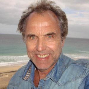 Jürgen Schilling am Strande von Fuerteventura
